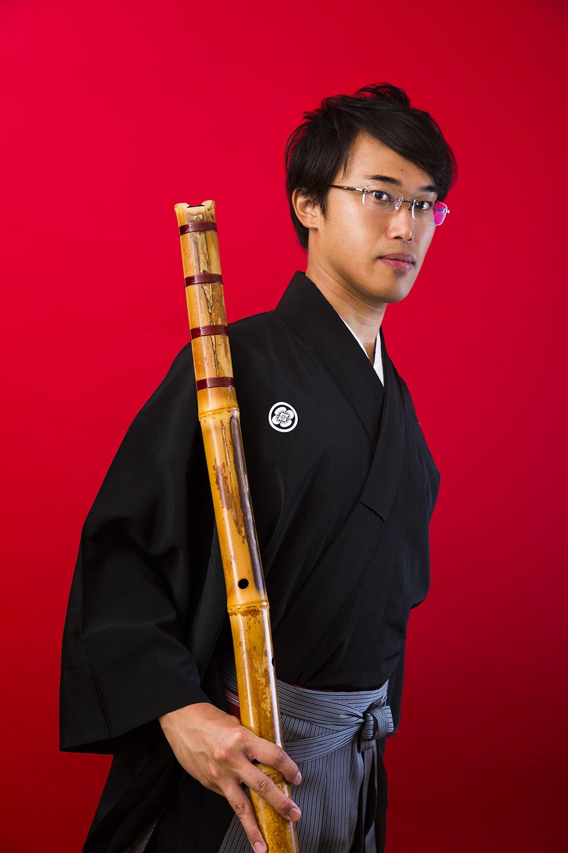 尺八奏者・黒田鈴尊