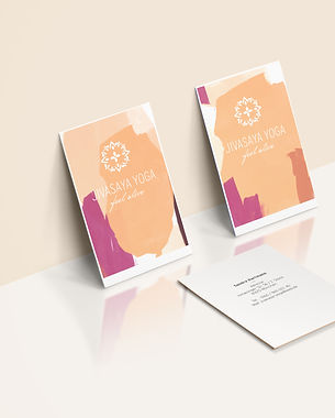 Corporate Design Logodesign Marke Yoga Studio