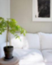 Wohnzimmer Sofaecke Leinen Französisch