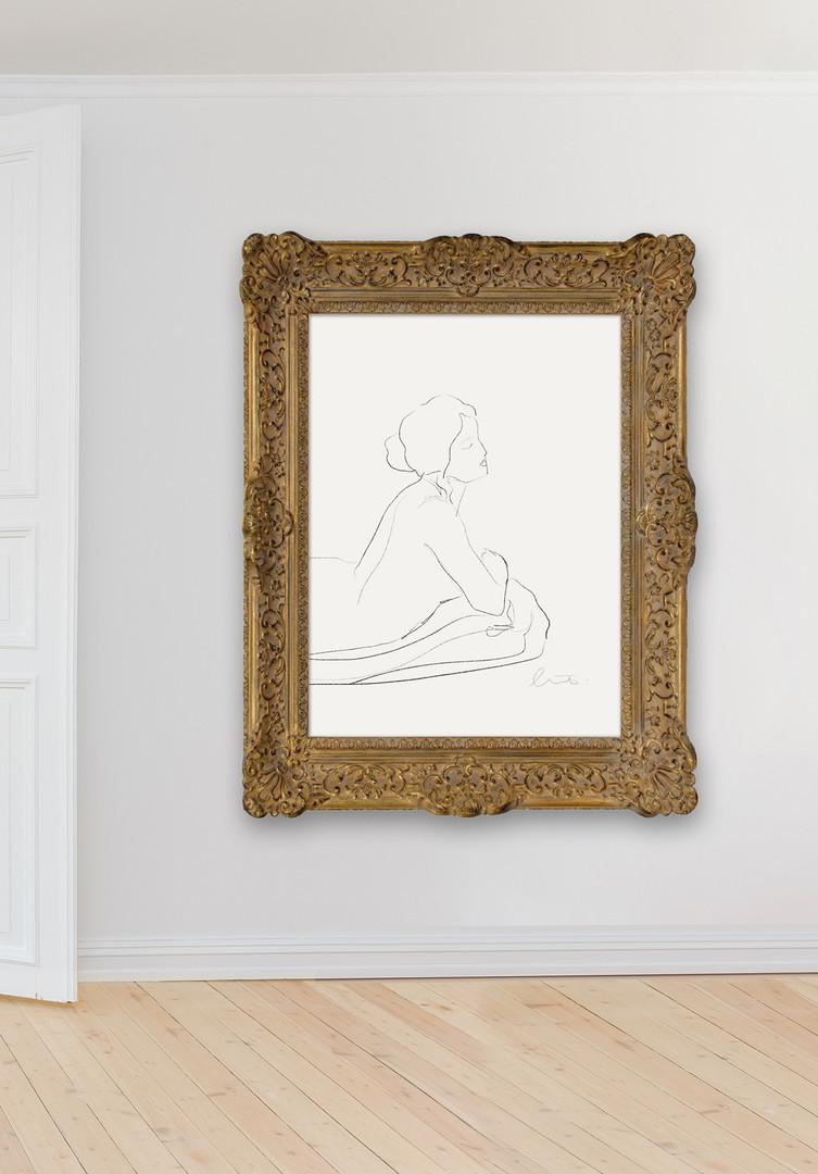 Kunst Rahmen Malerei