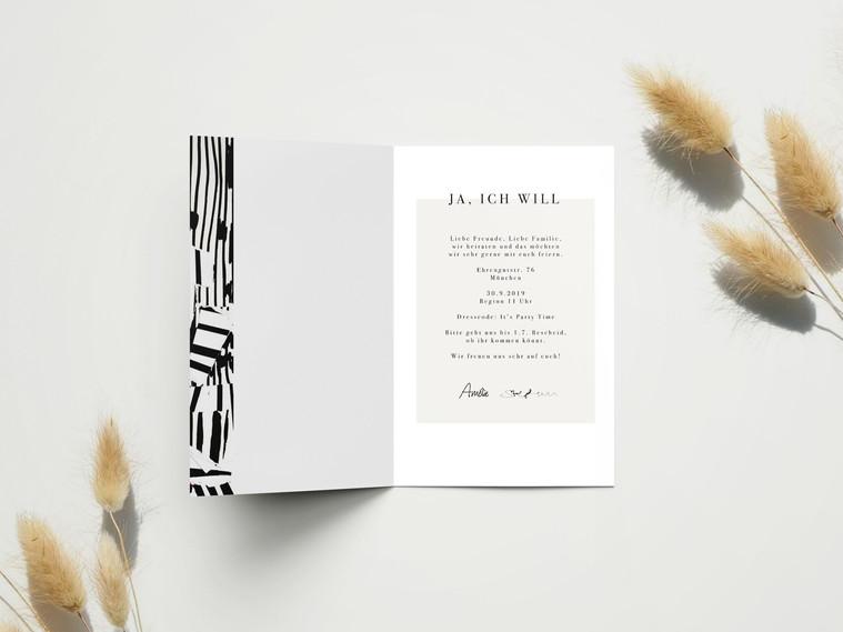 Hochzeitseinladung Muster