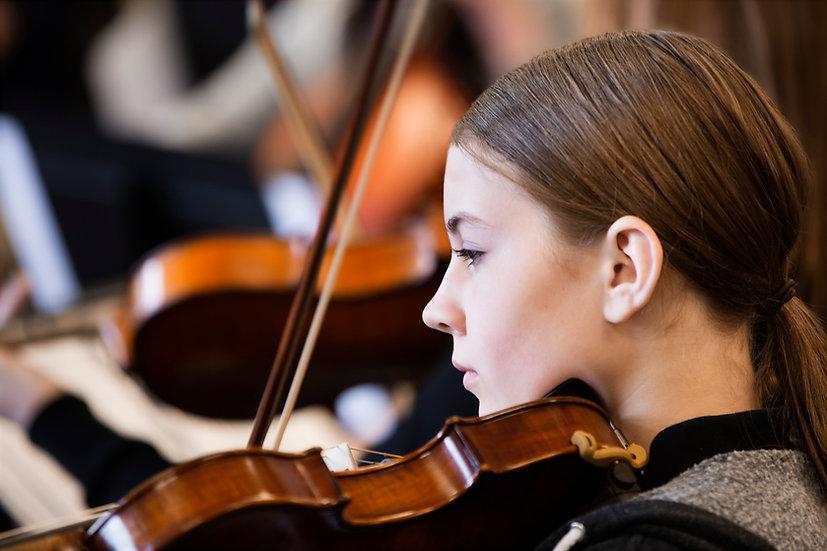 Clases Presenciales de Violin, Viola y Violoncello