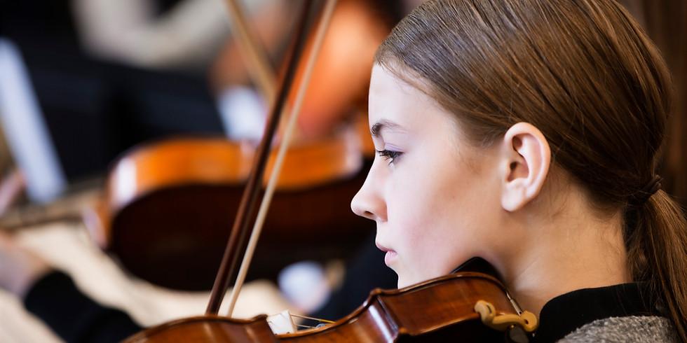 TMEA All Region Masterclass- High School Violin