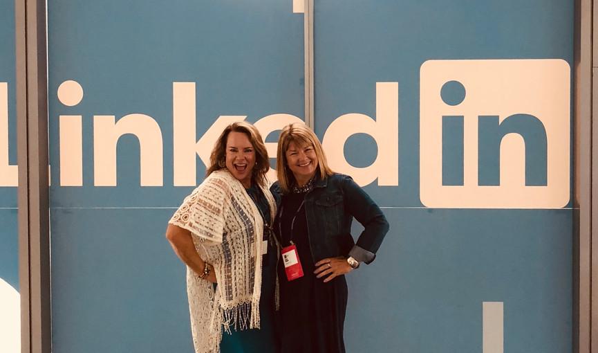 With Viveka von Rosen at InBound
