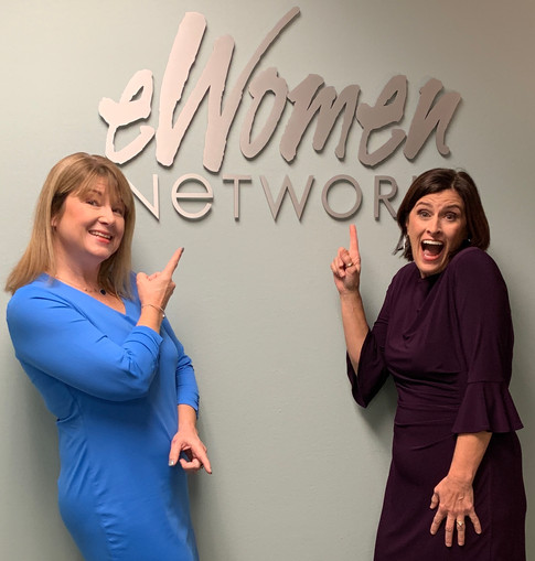 Hanging out at eWomenNetwork in Dallas