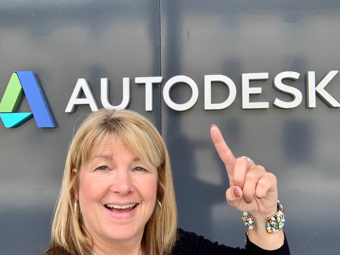 Speaking at AutoDesk