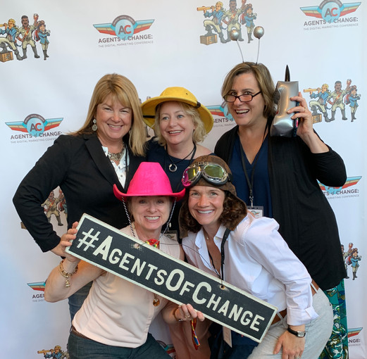 Group fun at Agents of Change Conference