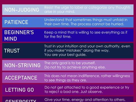 Mindfulness 9 Attitudes