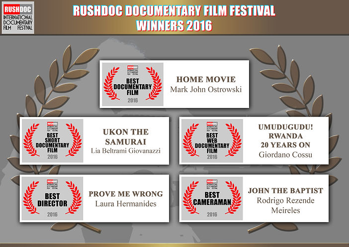 RushDoc Film Festival Winners 2016