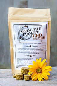 Springdale Farm CBD Dog treats