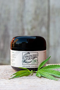 Springdale Farm CBD Muscle Cream