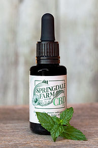 Springdale Farm organically-grown cbd hemp extract