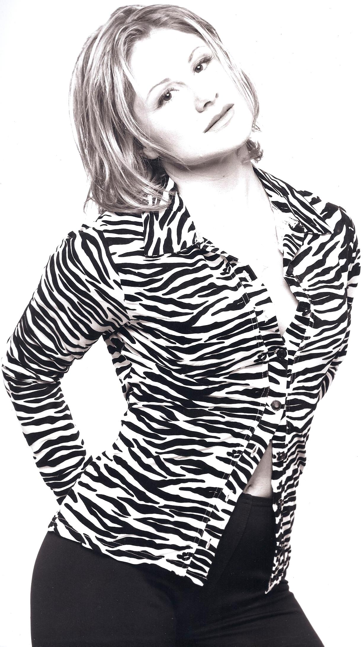 Shaune Ann zebra