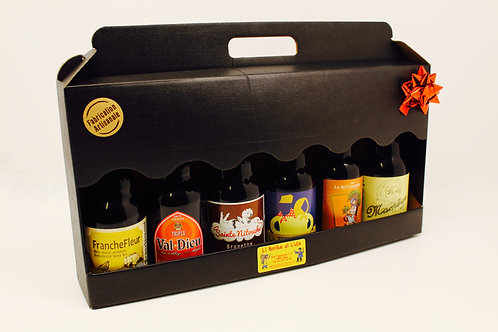 Coffret cadeau de 6 bières mixtes