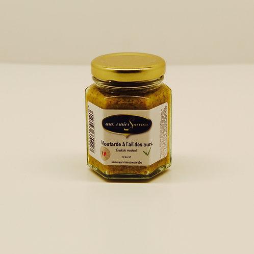 Moutarde à l'ail des ours - Aux vraies Saveurs