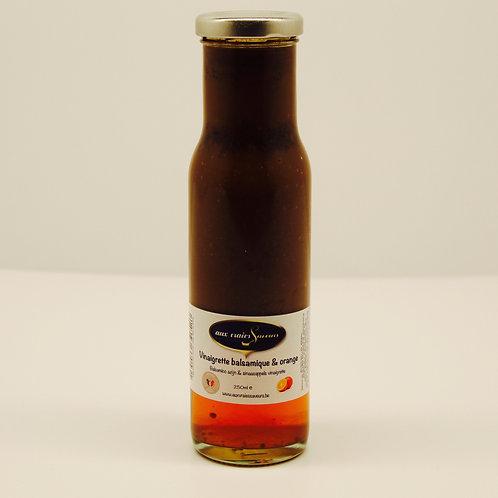 Vinaigrette balsamique et orange - Aux vraies Saveurs
