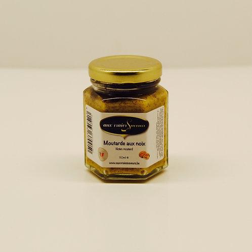 Moutarde aux noix - Aux vraies Saveurs