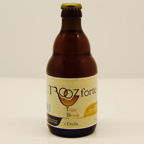 La Trooz forte - Bière Triple Blonde
