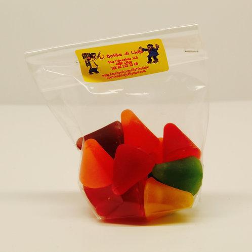 Sachet de cuberdons mixtes