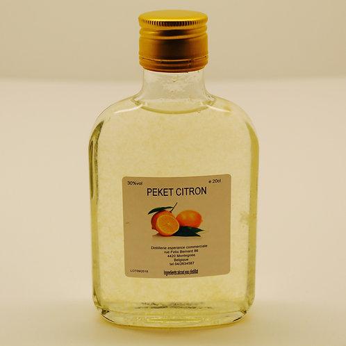 Pékèt citron - Distillerie L'Espérance Commerciale