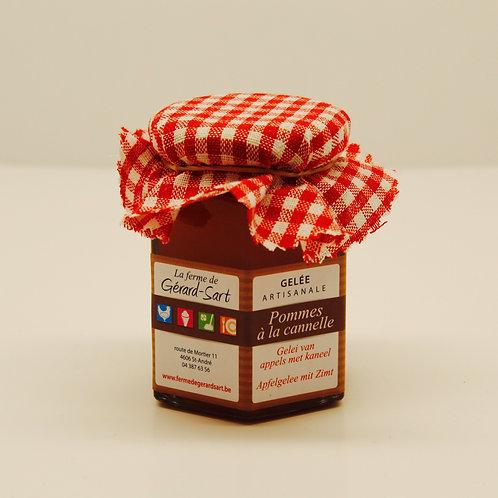 Gelée artisanale : pommes à la cannelle - La ferme de Gérard-Sart