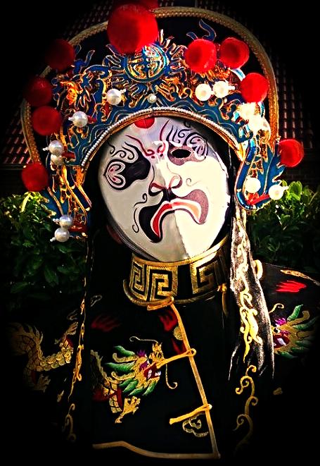 Bian Lian Zauberer Kiel New white Mask