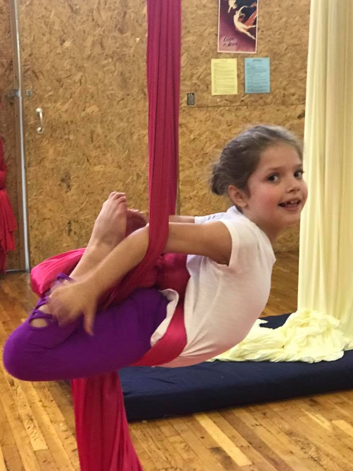 Pittsburgh Circus Center- Youth Aerial Silks
