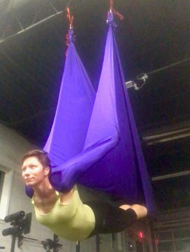 Holly Kirby Aerial Yoga Teacher
