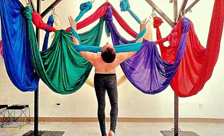 Aerial Yoga teacher at Pittsburgh Circus Center