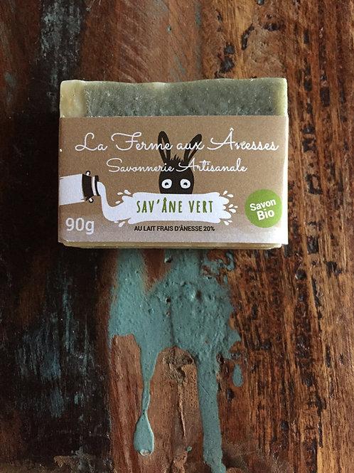 Sav'Âne Vert (Pour Peaux Grasses, acné, boutons...)