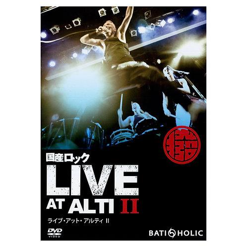 "DVD ""国産ロック LIVE at ALTI Ⅱ"""