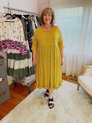 Nicola Ruffle : Mustard Floral