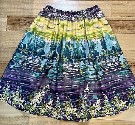 Monet Gathered Skirt