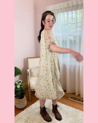 Jenni Love Dress   Pink Roses