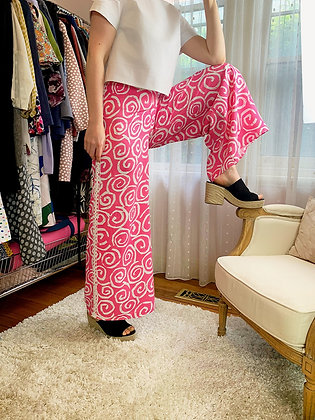 Abbey Pant - vintage fabric