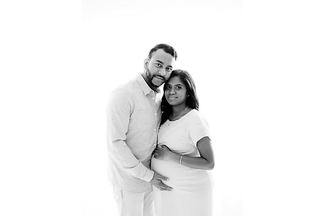 Couples maternity shoot