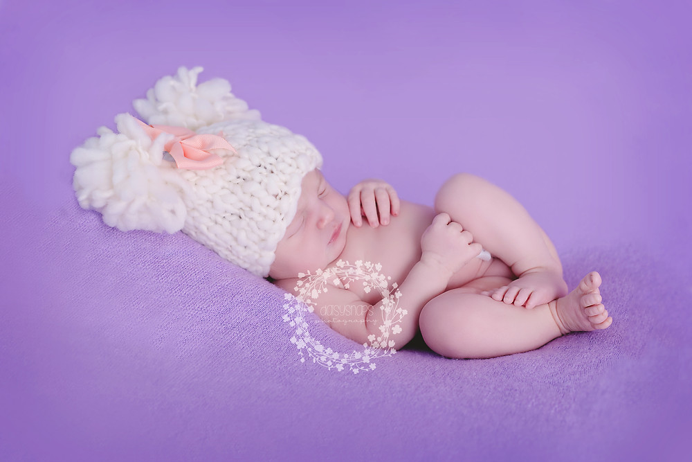 Lovely newborn photo shoot in our gravesend studio with this little newborn baby.