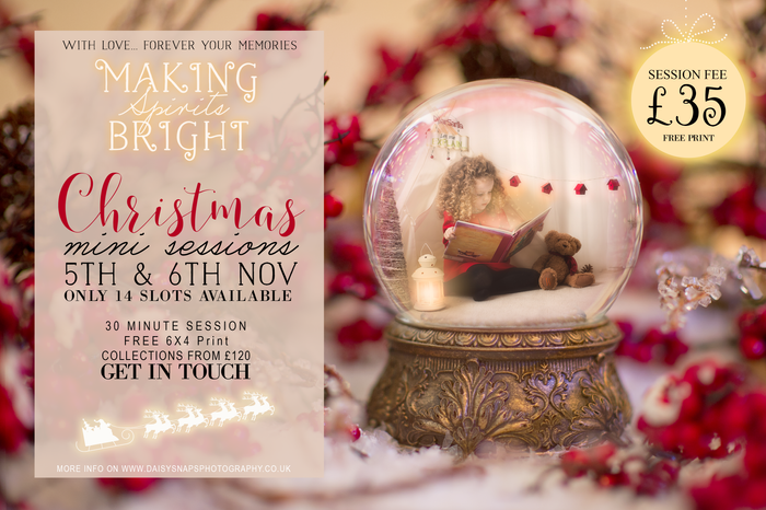 Christmas Mini Sessions 2016 | Christmas Photo Sessions | Gravesend, Kent