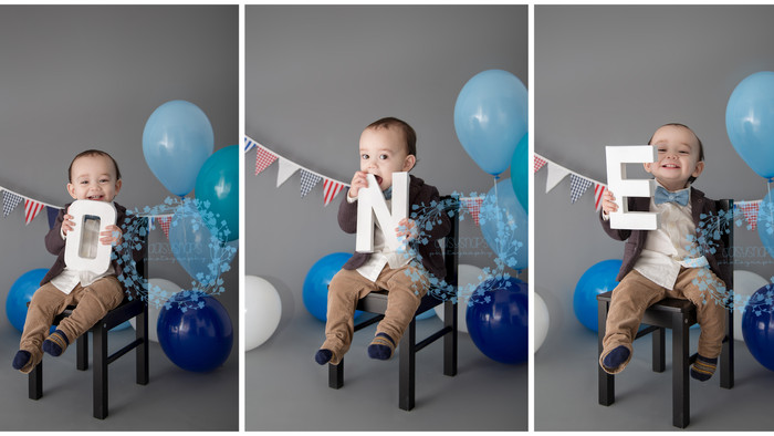 What a great way to celebrate your little baby's 1st Birthday Milestone! │ CAKE SMASH PHOTOGRAPH