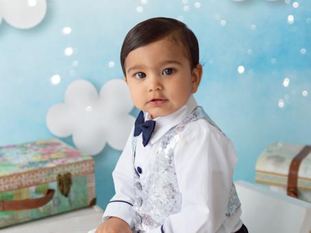 Amazing Cake Smash & Splash photo session | Cake Smash Photography | Baby Photographers Gravesen