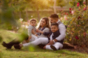 beautiful family momens in the park shows true happiness