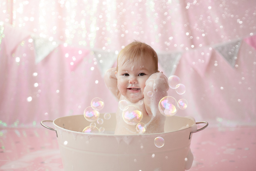 splash splash i was taking a bath! bubbles and smiles all round