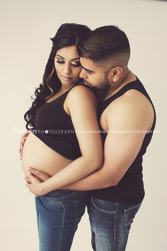 Look at that Glow!  They are an absolute stunning couple l Gravesend Maternity Photographer, Kent l