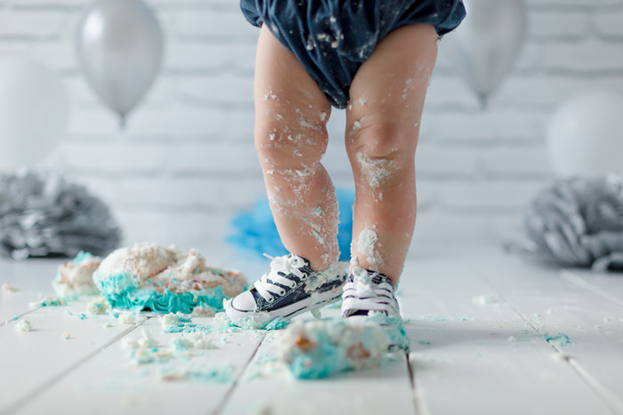 Cake Smash & Splash | Kent Baby Photographer | Bromley