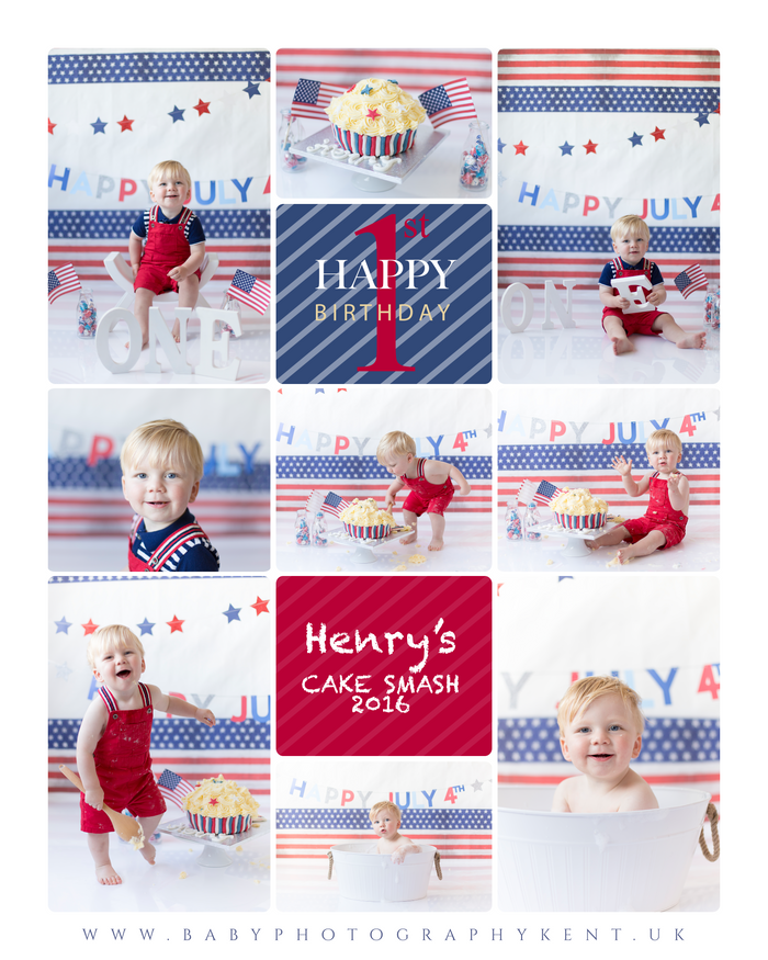 Happy 1st Birthday Henry! | Cake Smash & Splash Photo Shoot | Baby Photography Kent.