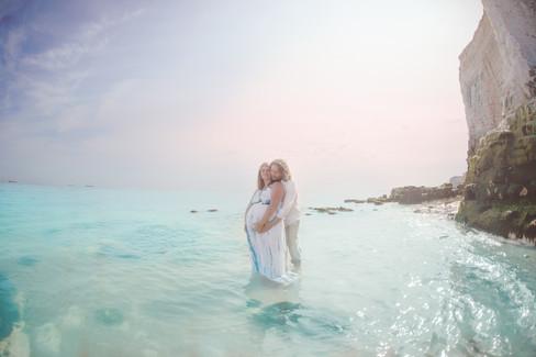 Seaside Maternity Photoshoot - Botany Bay