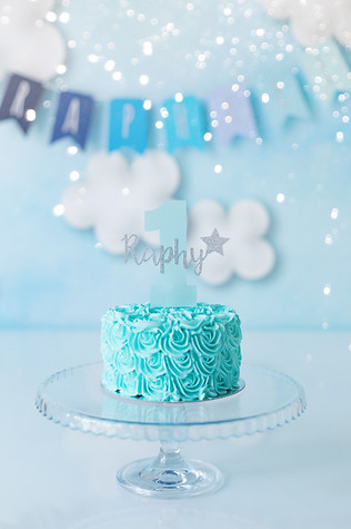 Cloud Themed Cake Smash
