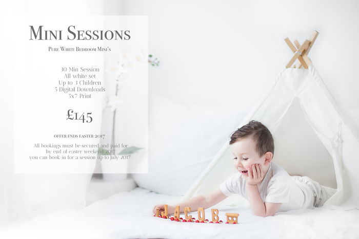 Easter Mini Session Offer | Free Session and Free 5x7 Print