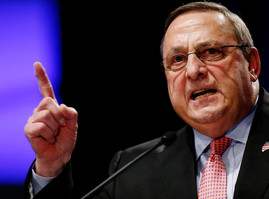 Maine Governor Defies Voters, Prolongs Black Market