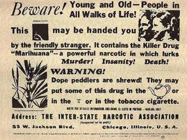 Anti-Cannabis Propaganda: Same as It Ever Was